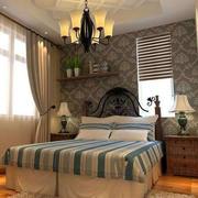 卧室原木地板设计