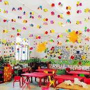 幼儿园教室节日装饰