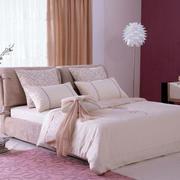清新粉色婚房卧室设计