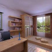 日式卧室原木榻榻米设计