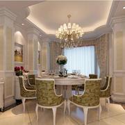 新中式风格新房餐厅装修