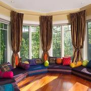 东南亚风格阳台窗户装饰