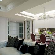 别墅新房餐厅灯饰设计