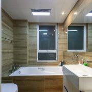 日式清新原木卫生间装饰