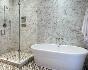 卫生间淋浴隔断装饰
