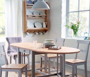 北欧风格餐厅桌椅设计