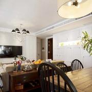 三室两厅电视背景墙设计