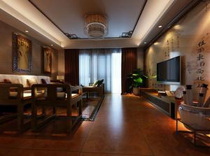 幽静典雅、精致完美的中式客厅装修效果图实例鉴赏