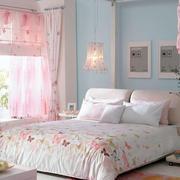欧式田园简约风格婚房卧室装饰