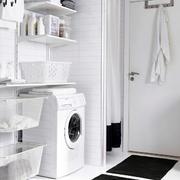 洗衣房洗衣机装饰