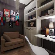 现代风格工作室沙发布置