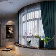 公寓客厅小型窗户装饰