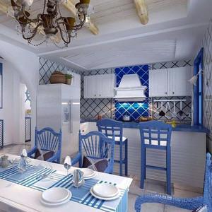 地中海风格吧台装修效果图一览
