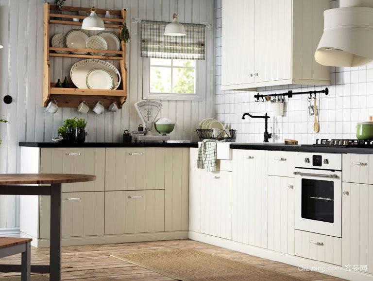 专为别墅设计的完全开放式厨房装修效果图