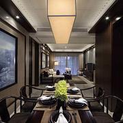 新中式新房餐厅灯饰设计