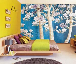 现代简约风格卧室背景墙装饰