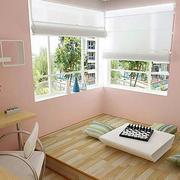 清新现代日式儿童房设计