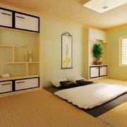卧室日式榻榻米床设计