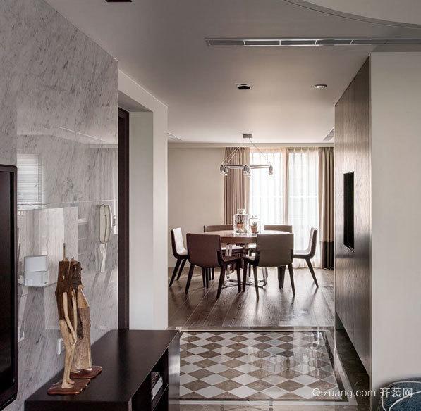 艺术感与家的结合 混搭风格别墅装修设计效果图