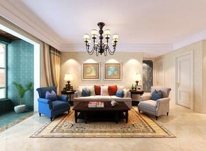 享受宁静的午后:140平米简约的三室房屋装修效果图