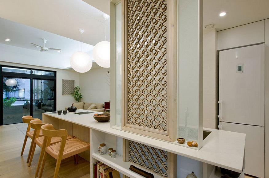 极限美学:化解狭小的50平米一居室小户型装修效果图