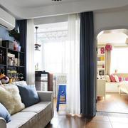 简约现代客厅沙发装饰