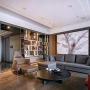 后现代风格新房客厅吊顶设计