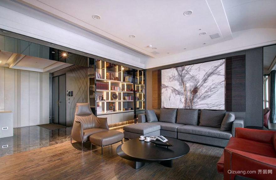 让您忍不住点赞的有个性的大户型三居室新房装修效果图