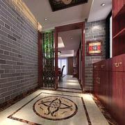 中式花园过道装饰