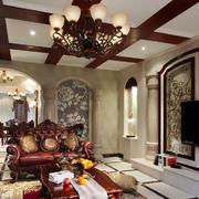 东南亚风格别墅吊顶设计