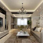 后现代风格精致背景墙装饰