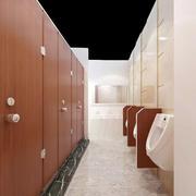 简约风格原木卫生间设计