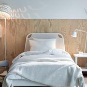 简约风格卧室床头背景墙