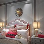 欧式别墅卧室背景墙设计