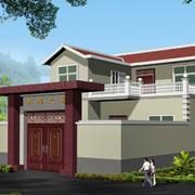 乡村别墅围墙设计