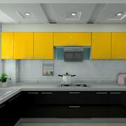亮色系厨房悬挂式橱柜