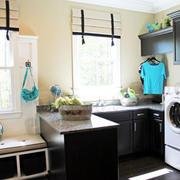 后现代风格洗衣房装饰