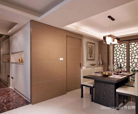 120平米全开放式规划理性、实用的两居装修效果图