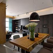 北欧风格客厅餐桌装饰