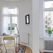 北欧风格工作室效果图