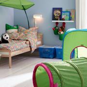 美式儿童房简约木制地板装饰