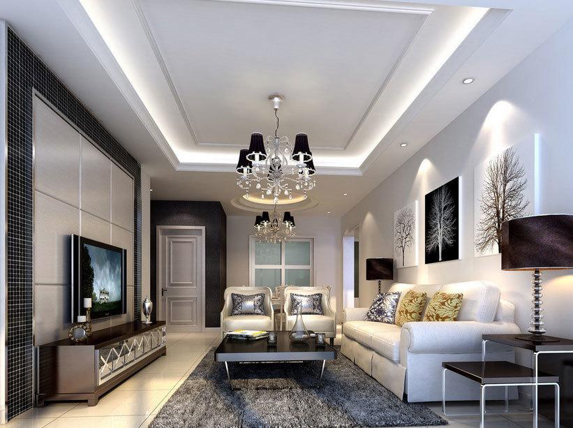 美轮美奂、别出新意的小户型客厅装修设计效果图实例鉴赏