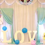 韩式清新风格婚礼背景设计