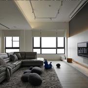 老房后现代风格客厅沙发装饰