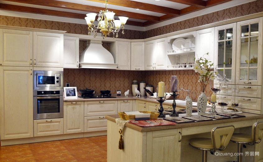 经得起时间的考验:经典欧式厨房金牌厨柜装修效果图实例大全