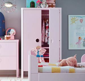30平米轻松欢快美式风格儿童房装修效果图