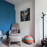 后现代风格公寓客厅背景墙设计