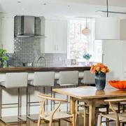美式样板房开放式厨房设计