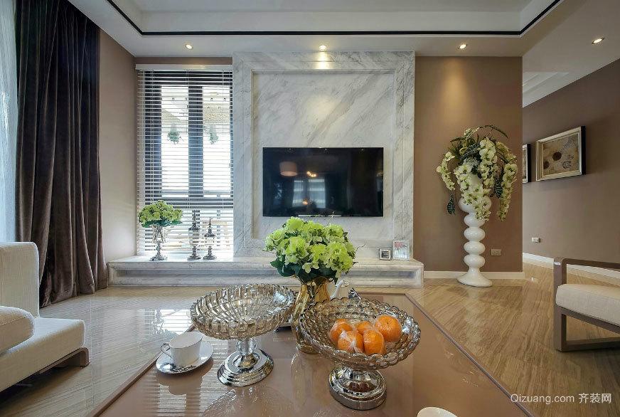 现代奢华乐章:160平米三室两厅两卫室内装修设计效果图