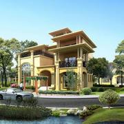 造型独特乡村别墅设计